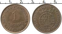 Продать Монеты Португальская Гвинея 1 эскудо 1946 Медь
