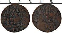 Изображение Монеты Испанские Нидерланды 2 стювера 0 Медь VF