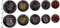 Изображение Наборы монет Панама Панама 2017-2019 0  UNC