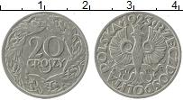 Изображение Монеты Польша 20 грош 1923 Медно-никель XF