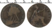 Изображение Монеты Великобритания 1 пенни 1900 Бронза VF