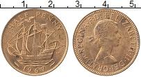 Изображение Монеты Великобритания 1/2 пенни 1967 Бронза UNC- Елизавета II.