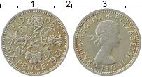 Изображение Монеты Великобритания 6 пенсов 1961 Медно-никель XF