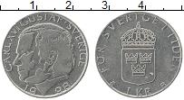 Изображение Монеты Швеция 1 крона 1998 Медно-никель XF Карл XVI Густав