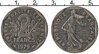 Изображение Монеты Франция 2 франка 1979 Медно-никель XF