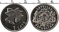 Продать Монеты Латвия 1 лат 2012 Медно-никель