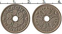 Изображение Монеты Дания 1 крона 1992 Медно-никель XF