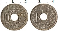 Изображение Монеты Франция 10 сантим 1923 Медно-никель XF