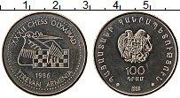 Изображение Монеты Армения 100 драм 1996 Медно-никель UNC-