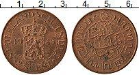 Изображение Монеты Нидерландская Индия 2 1/2 цента 1945 Бронза XF+