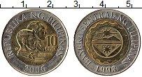 Изображение Монеты Филиппины 10 песо 2006 Биметалл UNC- Андрес Бонифацио