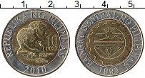 Изображение Монеты Филиппины 10 писо 1993 Биметалл UNC-