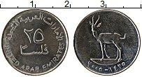 Изображение Монеты ОАЭ 25 филс 2005 Медно-никель XF