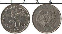 Изображение Монеты Малайзия 20,сен 2004 Медно-никель XF