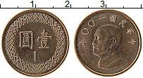 Изображение Монеты Тайвань 1 юань 2011 Бронза UNC- Чан Кайши
