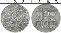 Изображение Монеты Австрия 100 шиллингов 1975 Серебро UNC- 50 лет шиллинга