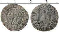 Изображение Монеты Германия Оснабрук 2 марьенгроша 1666 Серебро VF+