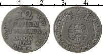 Изображение Монеты Германия Падерборн 1/12 талера 1764 Серебро XF-