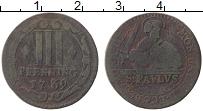Изображение Монеты Мюнстер 3 пфеннига 1739 Медь XF-
