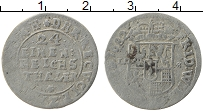 Продать Монеты Бранденбург - Пруссия 1/24 талера 1682 Серебро