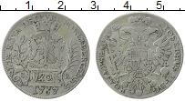 Продать Монеты Нюрнберг 20 крейцеров 1767 Серебро