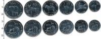 Изображение Наборы монет Эритрея Эритрея 1997 1997  UNC В наборе 6 монет ном