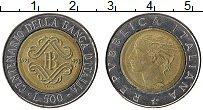 Изображение Монеты Италия 500 лир 1993 Биметалл UNC-