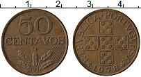 Изображение Монеты Португалия 50 сентаво 1978 Бронза XF