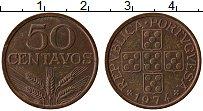 Изображение Монеты Португалия 50 сентаво 1974 Бронза XF