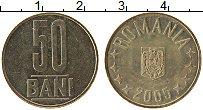 Изображение Монеты Румыния 50 бани 2005 Латунь XF