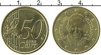Изображение Монеты Ватикан 50 евроцентов 2014 Латунь UNC- Франциск