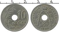 Изображение Монеты Бельгия 10 сантим 1920 Медно-никель XF
