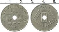 Изображение Монеты Бельгия 25 сантим 1938 Медно-никель XF