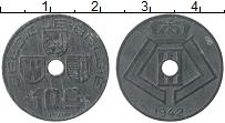 Изображение Монеты Бельгия 10 сантим 1942 Цинк XF