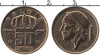 Изображение Монеты Бельгия 50 сантим 1982 Бронза UNC-