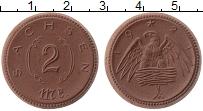 Изображение Монеты Германия : Нотгельды 2 марки 1921 Фарфор UNC