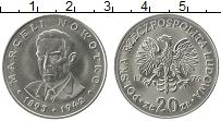 Изображение Монеты Польша 20 злотых 1974 Медно-никель UNC-