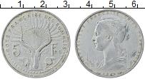 Изображение Монеты Сомали 5 франков 1948 Алюминий XF-