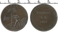Изображение Монеты Либерия 1 цент 1833 Медь VF Токен