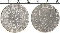 Изображение Монеты Австрия 25 шиллингов 1970 Серебро UNC-