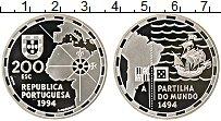 Изображение Монеты Португалия 200 эскудо 1994 Серебро Proof