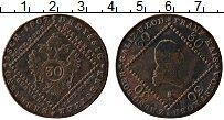 Изображение Монеты Австрия 30 крейцеров 1807 Медь VF Франц