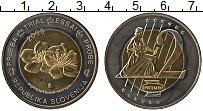 Изображение Монеты Словения 2 евро 2003 Биметалл UNC- Проба