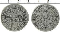 Продать Монеты Хильдесхайм 6 грошей 1689 Серебро