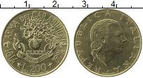 Изображение Монеты Италия 200 лир 1994 Латунь XF