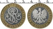 Изображение Монеты Польша 20000 злотых 1991 Серебро XF