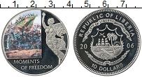 Изображение Монеты Либерия 10 долларов 2006 Медно-никель Proof-