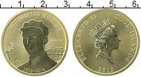 Изображение Монеты Острова Кука 1 доллар 2013 Латунь UNC- Елизавета II Мао дзе