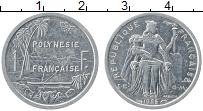 Изображение Монеты Полинезия 1 франк 1985 Алюминий XF