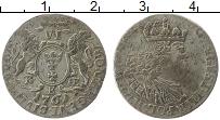 Изображение Монеты Данциг 6 грошей 1761 Серебро XF-